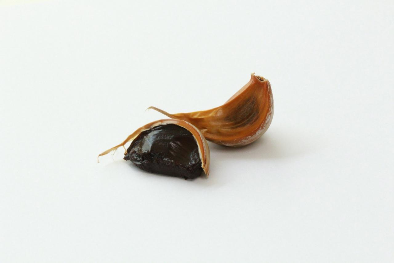 Contraindicaciones del ajo negro