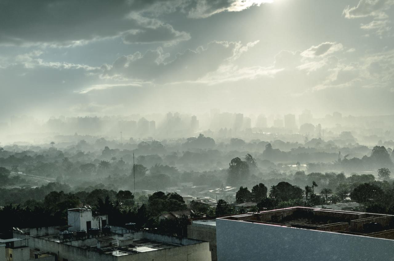 Smog en la ciudad